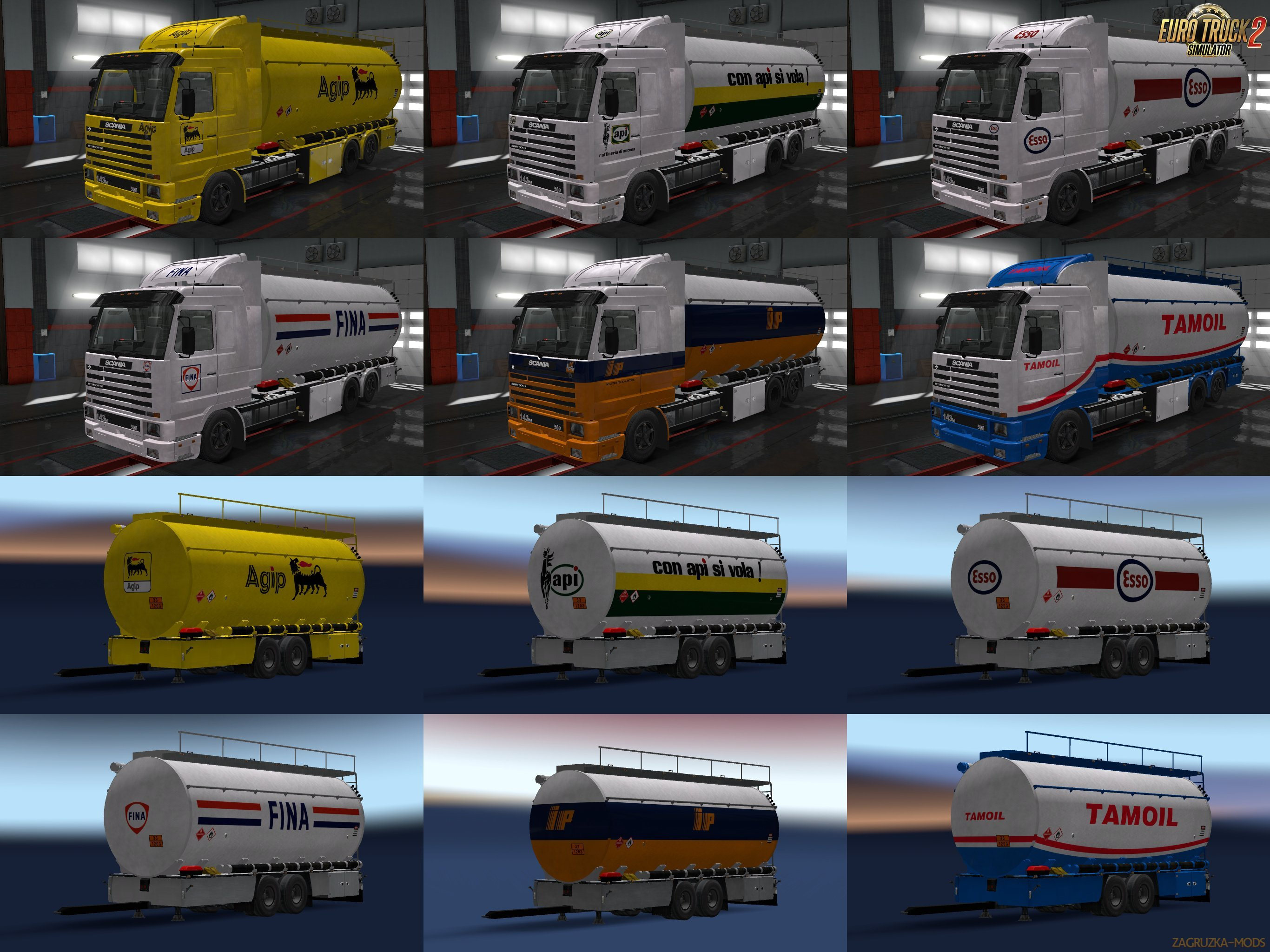 Scania 3 Truck and Cistern Skin Pack [1.30.x]