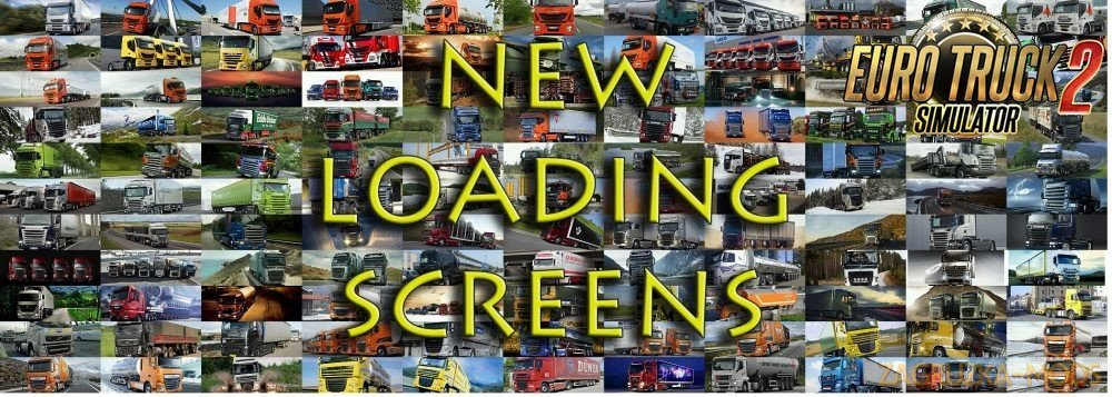 250 New Loading Screens for Ets2