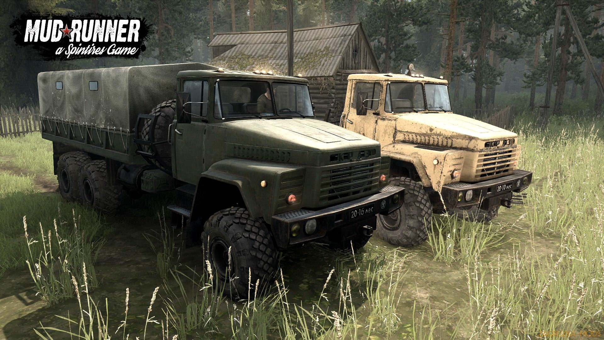 KrAZ-260 / 260B v1.0 (v07.11.17) for Spin Tires: MudRunner