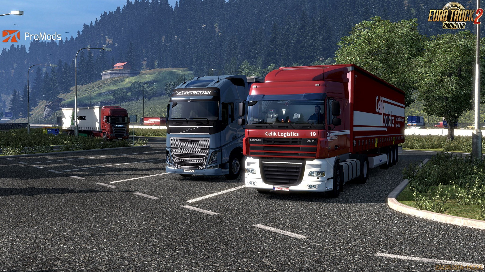 ProMods Map v2 25 (1 30 x) for ETS 2 » Simulator Mods | ETS2