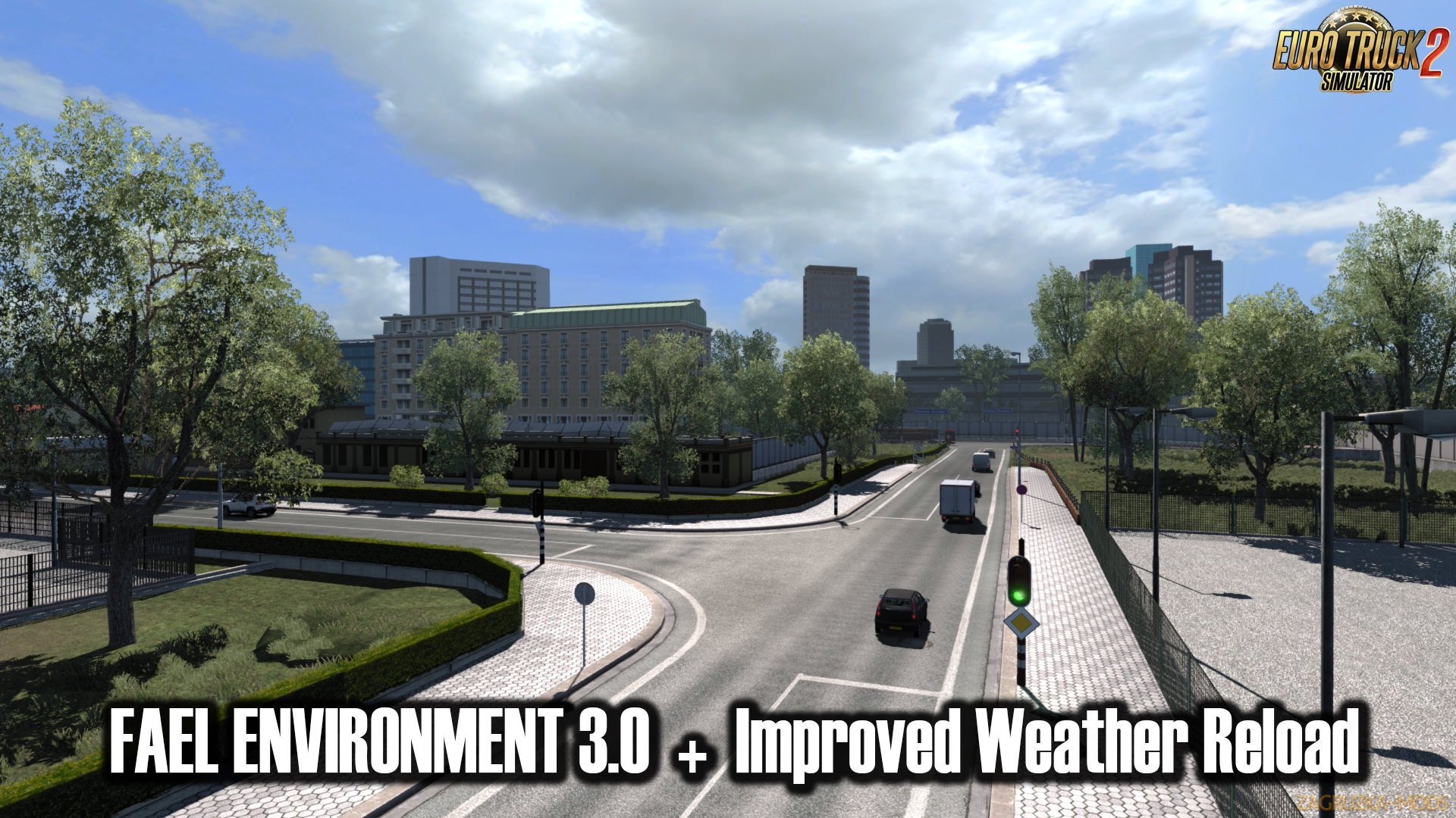 Fael Environment v3.1 by Rafaelbc (1.36.x) for ETS 2