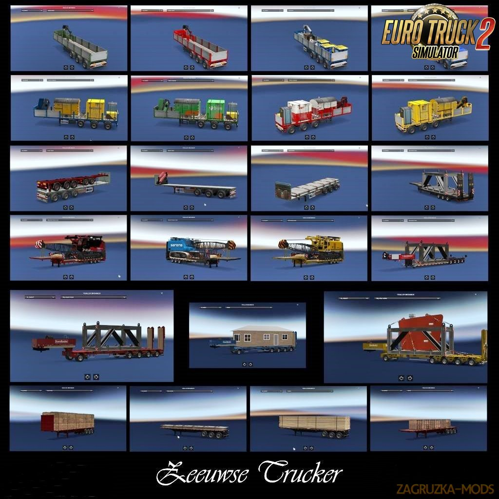 Trailer Pack Zeeuwse Trucker [1.30.x]