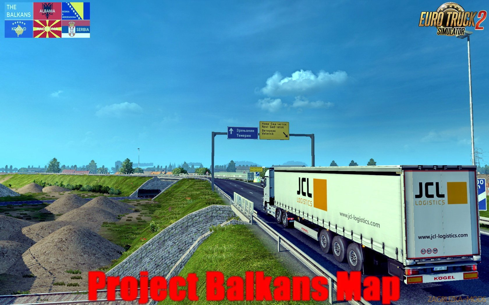 Project Balkans v4.2: ProMods Addon (1.37.x) for ETS 2