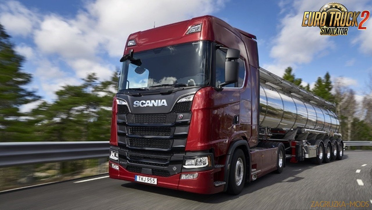 Scania Ghost V8 Sound v2 [1.30.x]