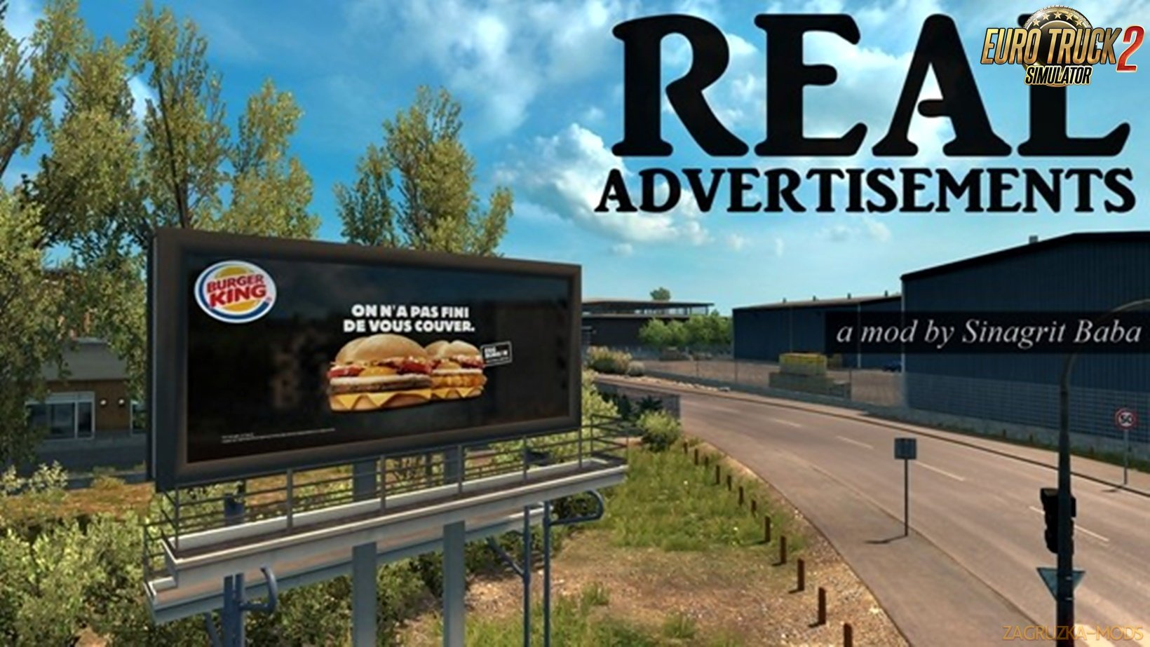 Real Advertisements v1.1 for Ets2