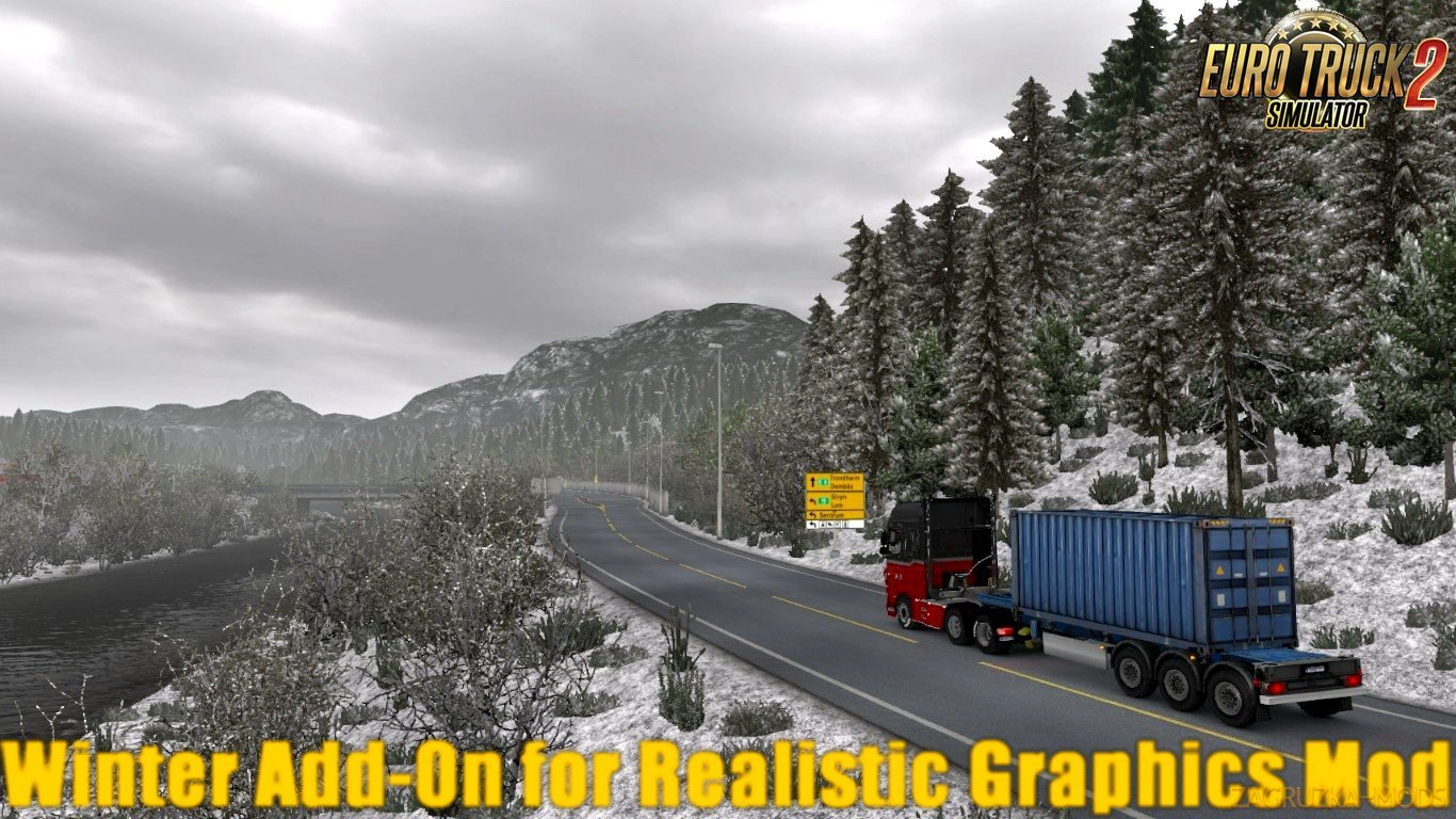 Winter Add-On for Realistic Graphics Mod v0.9.3 [1.30.x]