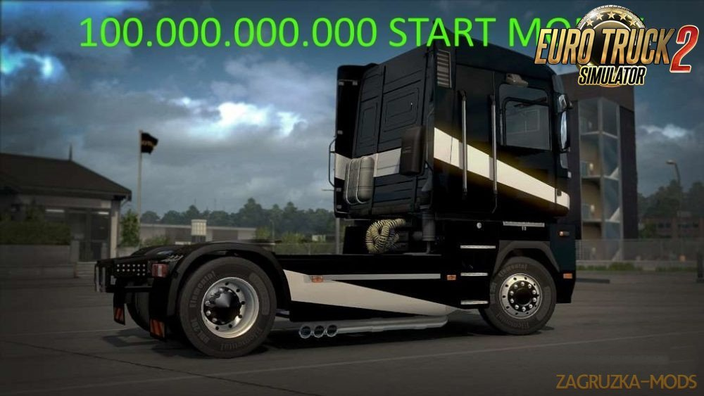 100.000.000.000 Start Money for Ets2