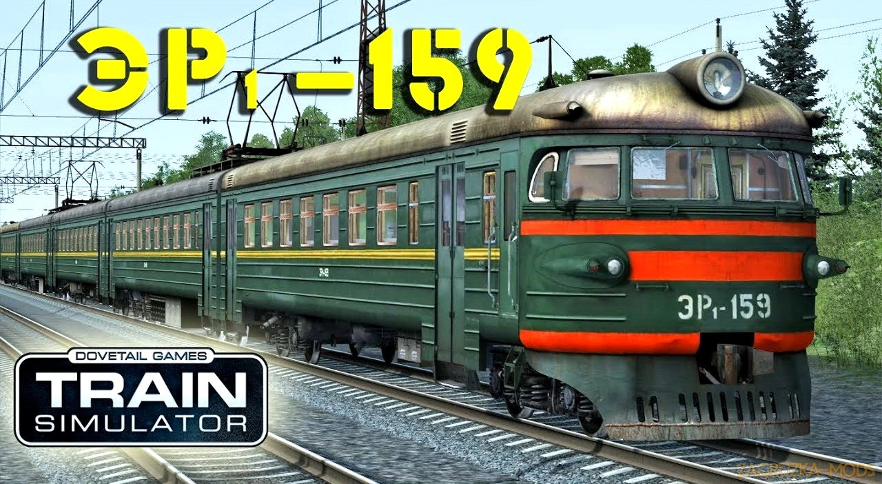 Electric Train ER1-159 v1.0 for TS 2018