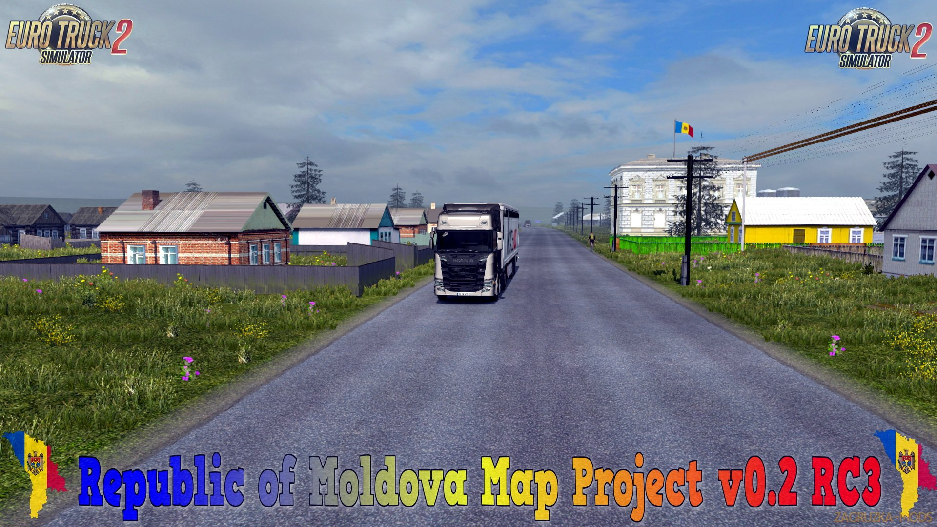Republic of Moldova Map Project v0.2 RC3 (1.30.x) for ETS 2