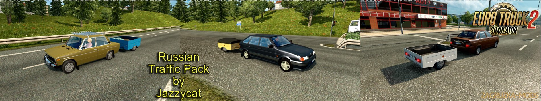 Russian Traffic Pack v2.4 by Jazzycat