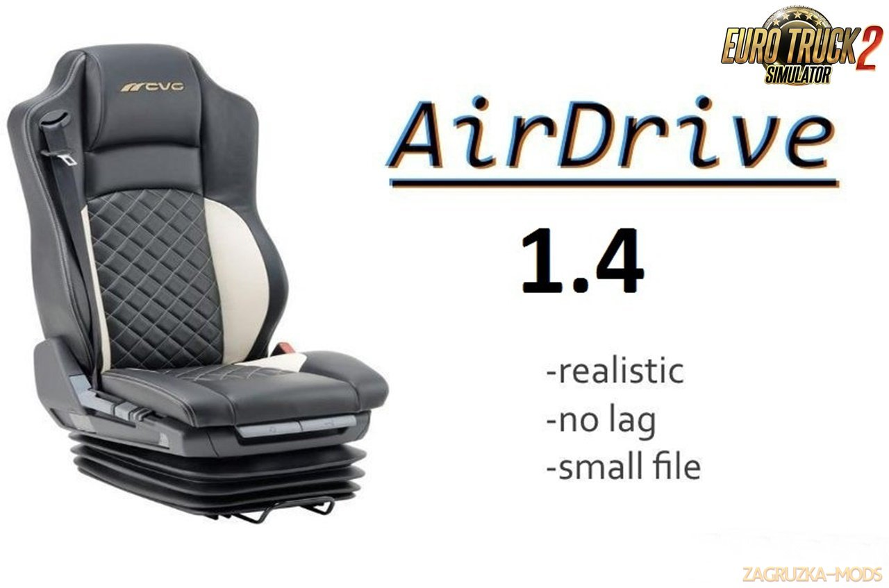 AirDrive Realistic v1.4 for Ets2