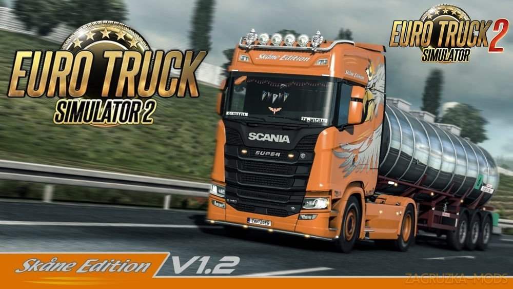 Skåne Edition Skin Pack v1.2 for Scania R, S Next Gen