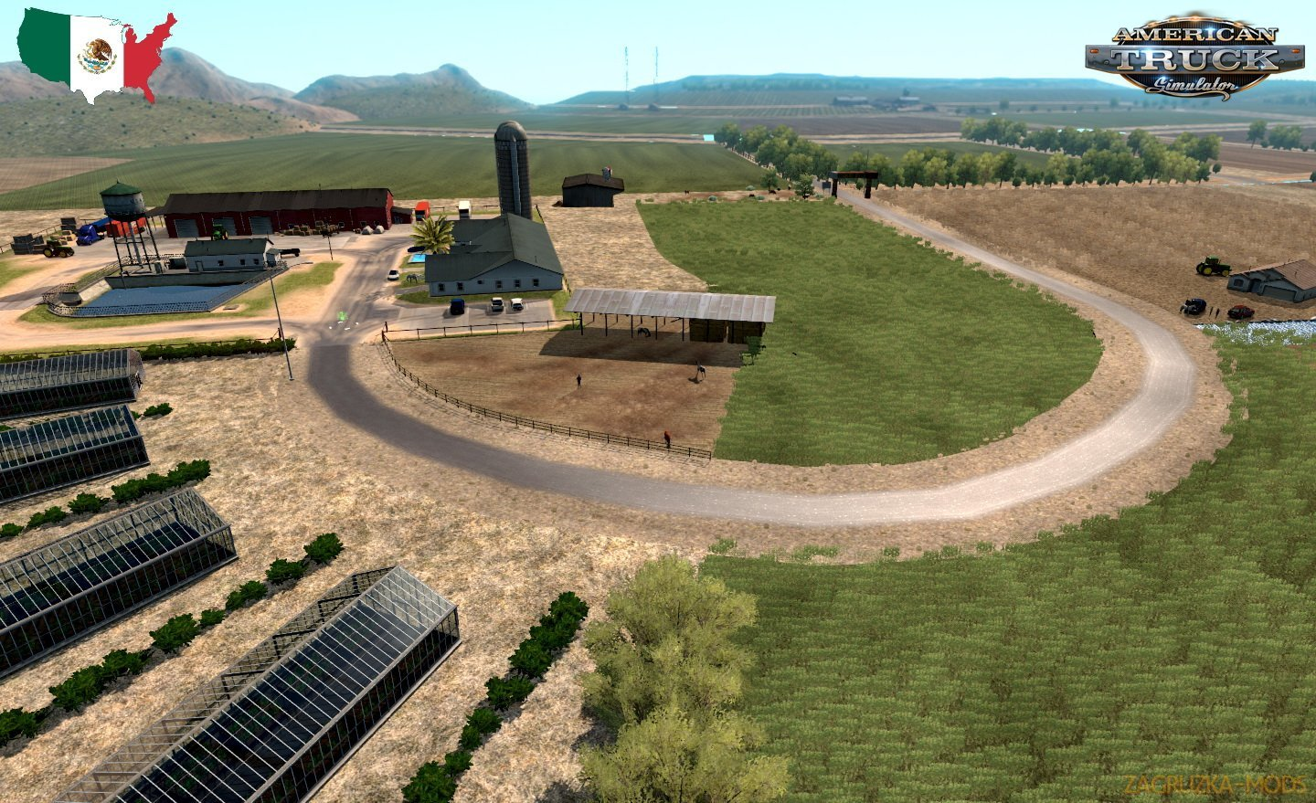 Mexssimap v1.0 by Jordi_R (1.30.x) for ATS
