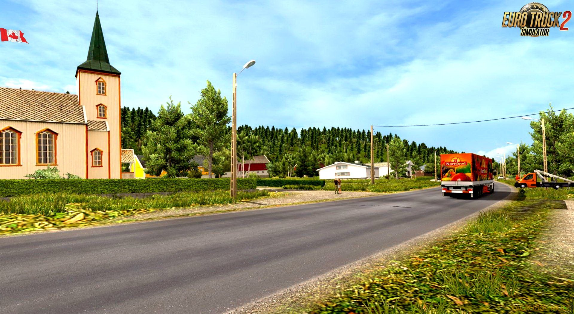 Canada Map v0.1.7 by Ivan Mykyta (1.30.x) for ETS 2