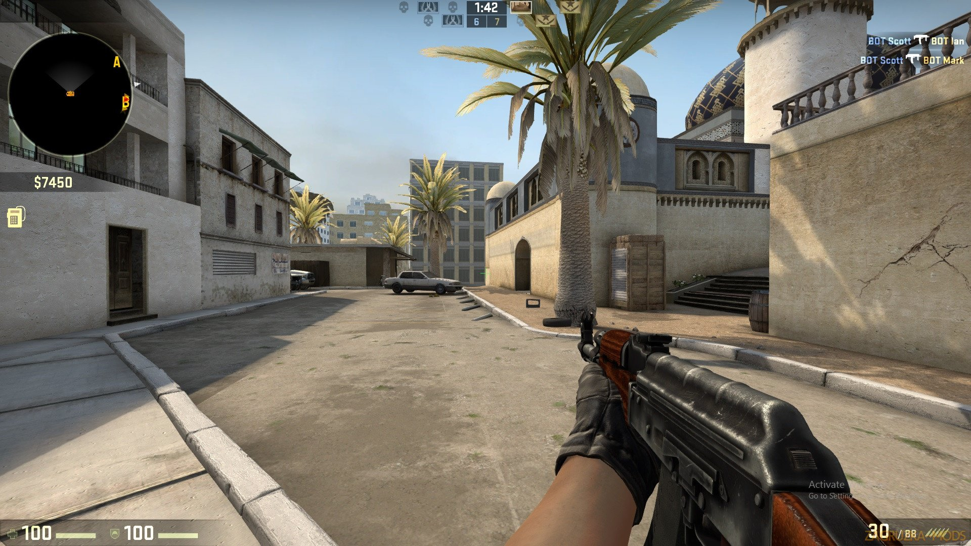 de_palms Map v1.0 for CS:GO