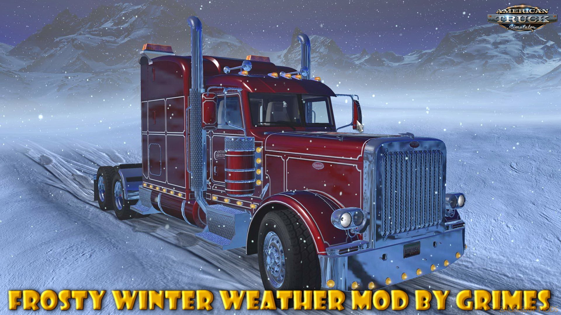Frosty Winter Weather Mod v2.6 (1.35.x) for ATS