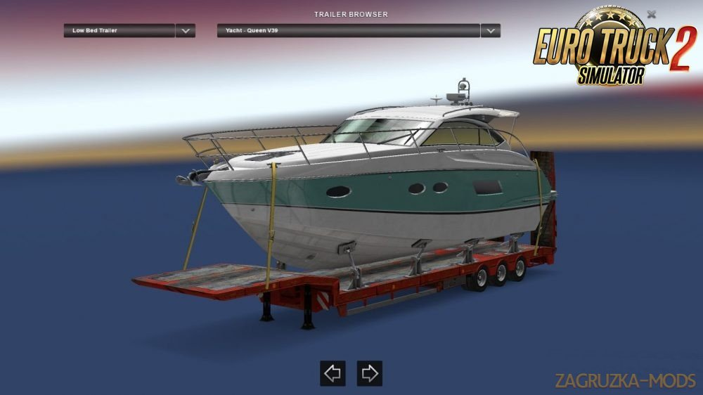 125 Tons Trailer For Ets2 Multiplayer