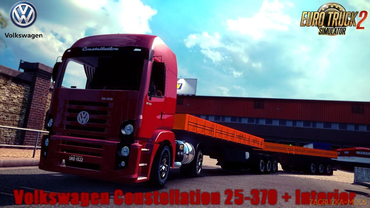 Volkswagen Constellation 25-370 + Interior v1.0 (1.30.x) for ETS 2