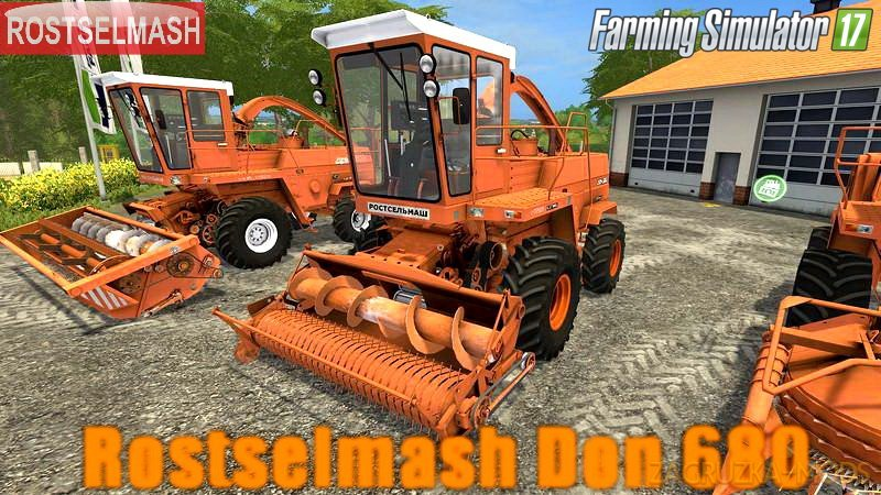 Rostselmash Don 680 v1.0.0.1 for FS 17
