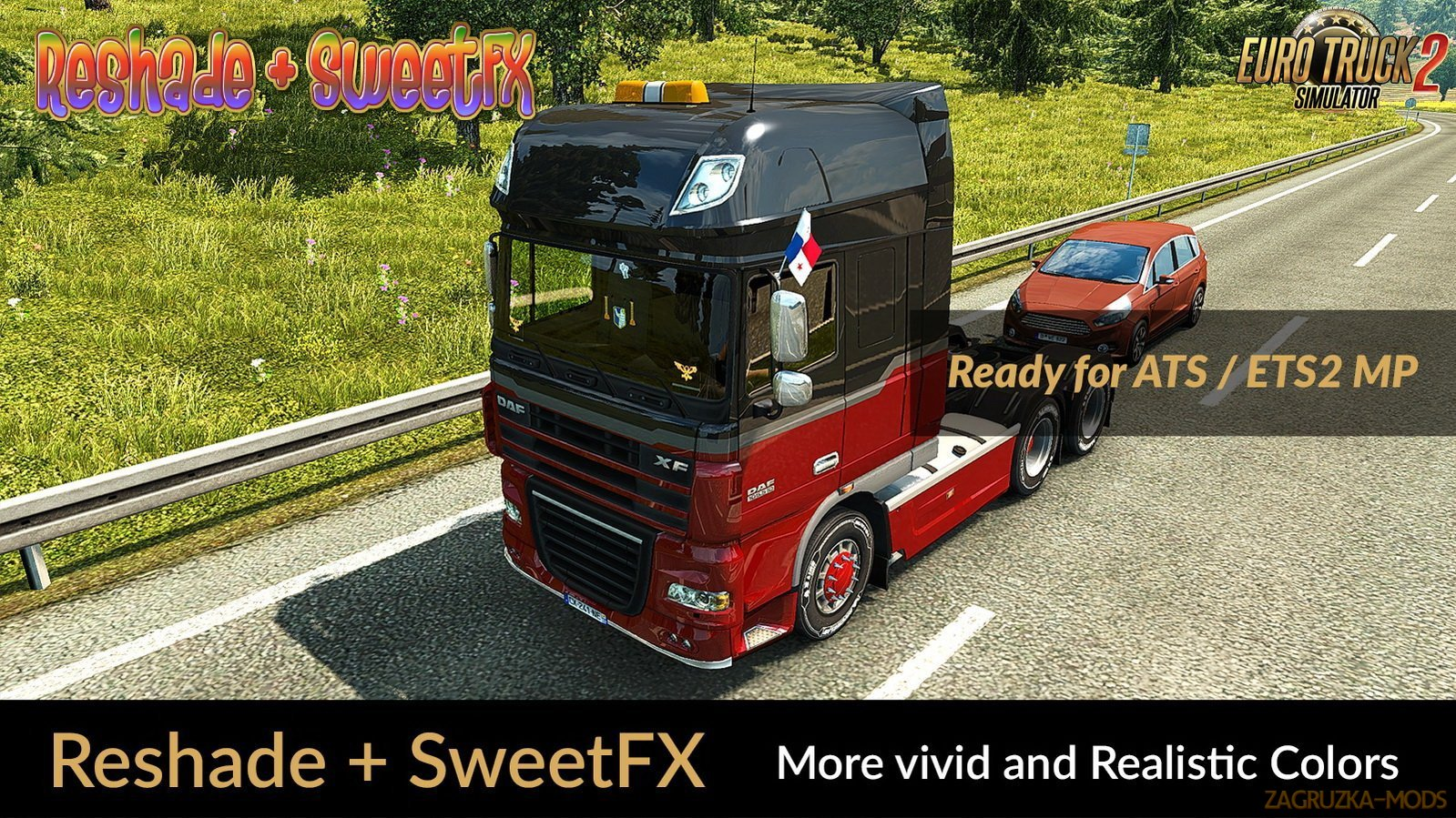 Realistic Lighting 2 JBX - Preset v1.9.6 (Reshade and SweetFX) (1.30.x) for ETS 2