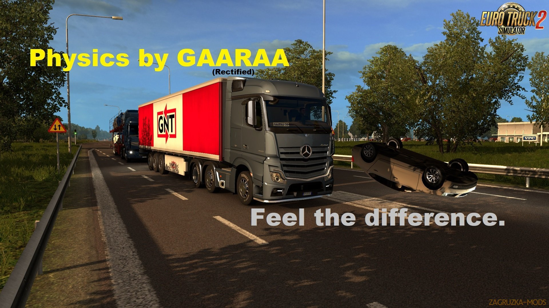 Physics Mod v1.1 by GAARAA (1.38.x) for ETS2