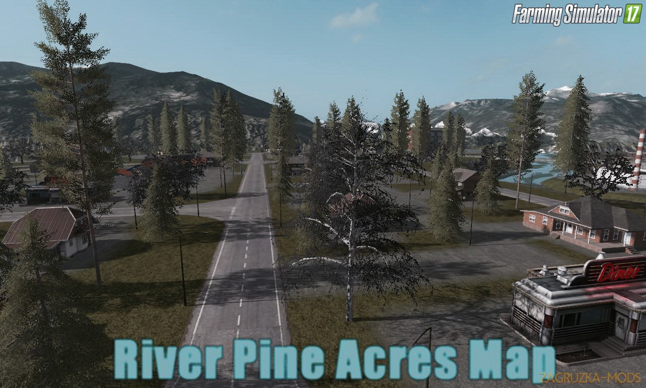 River Pine Acres Map v2.0 for FS 17