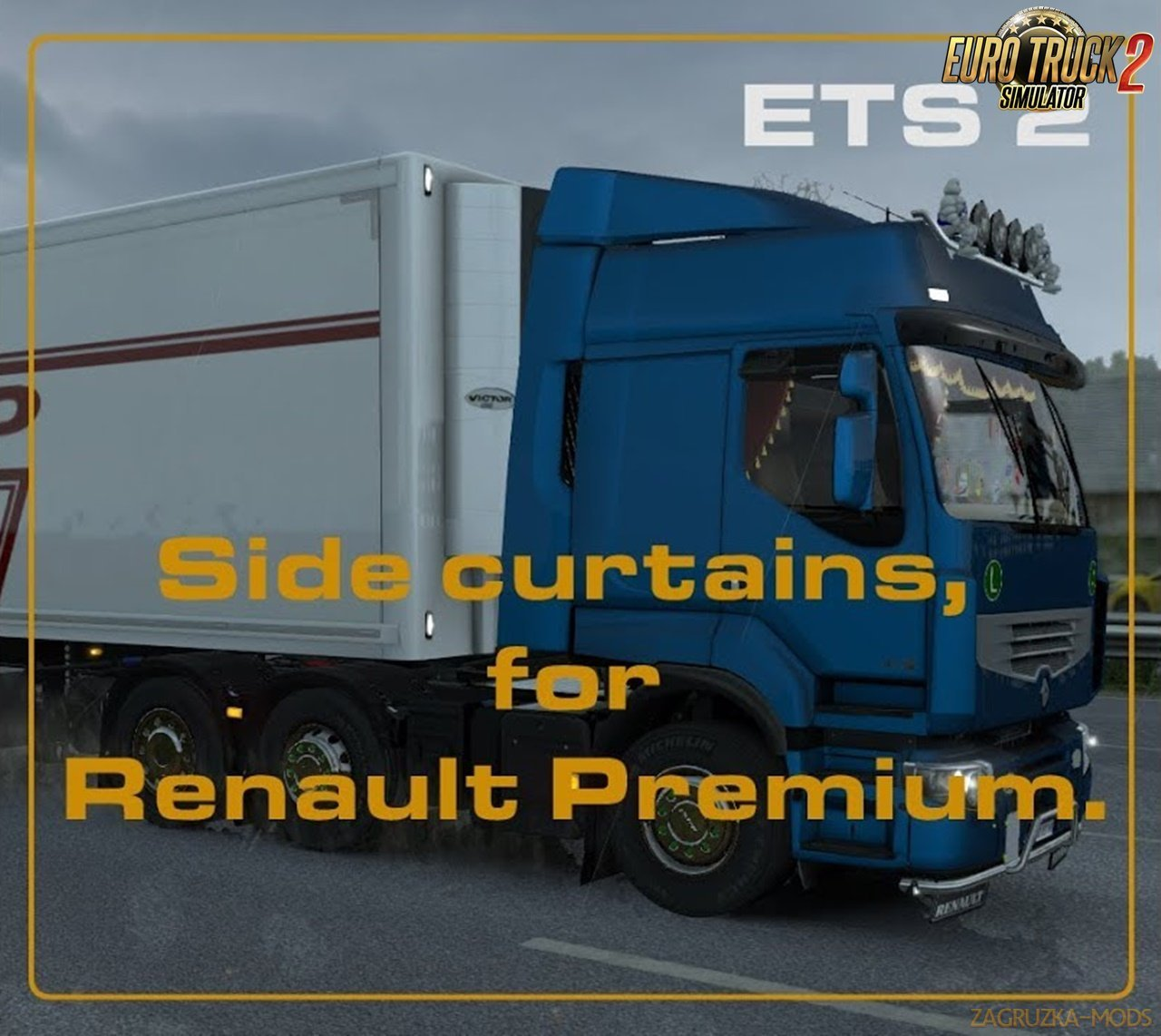 Side curtains for Renault Premium