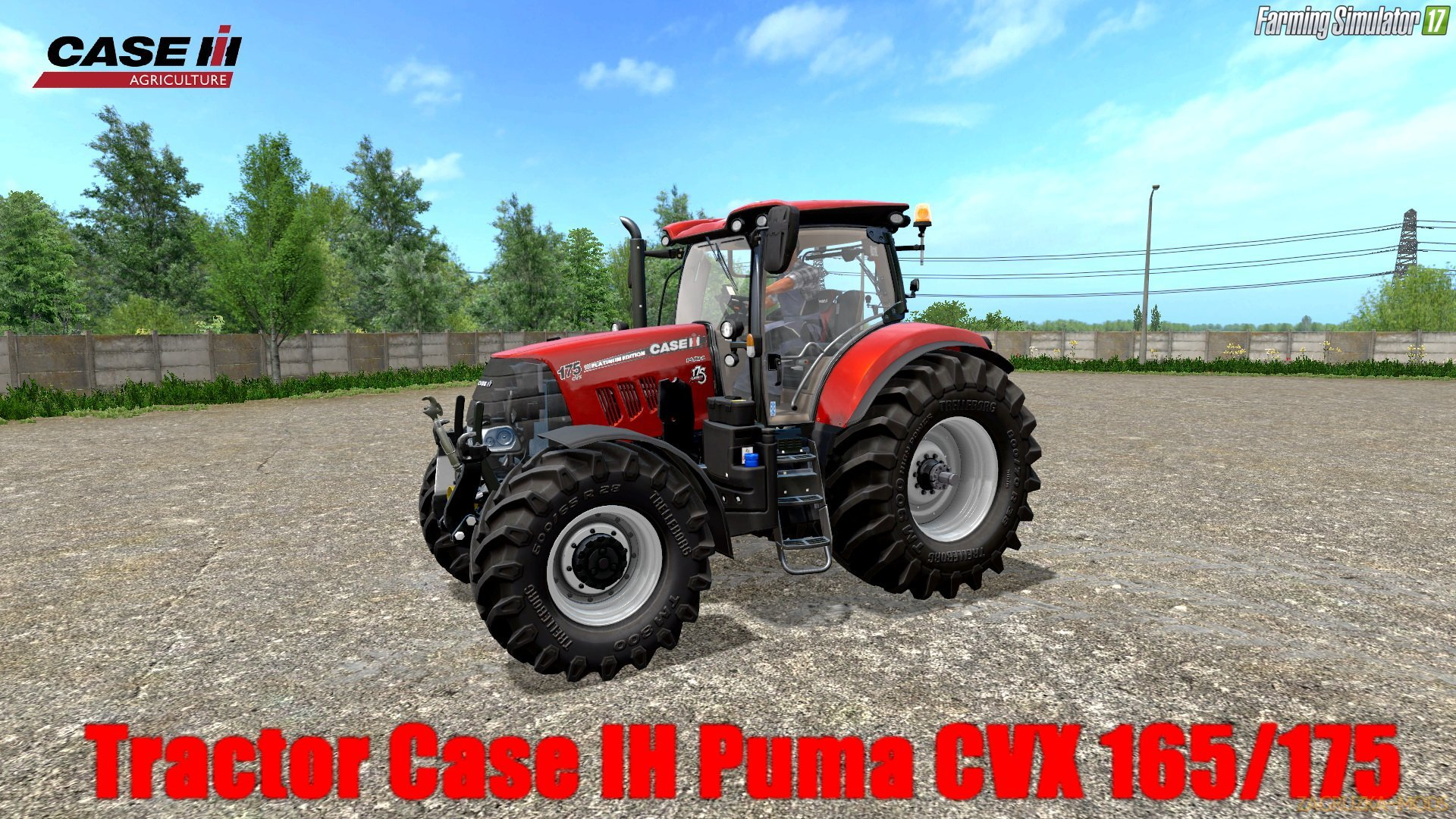 Case IH Puma CVX 165/175 v1.0 for FS 17