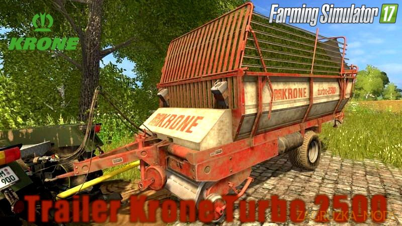 Krone Turbo 2500 v1.4 for FS 17