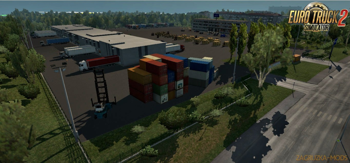 7 warehouses for Ets2