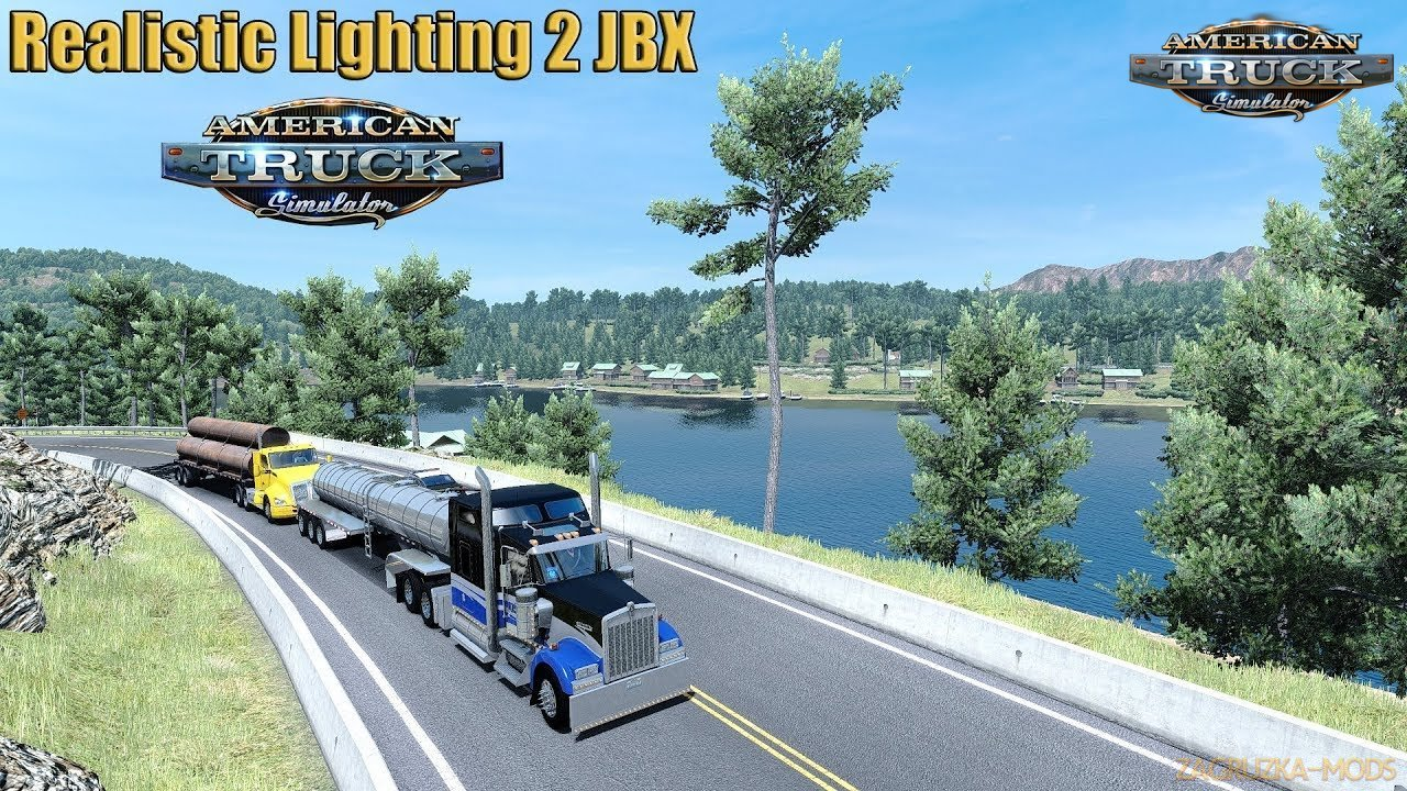 Realistic Lighting JBX v2.0 (1.31.x) for ATS