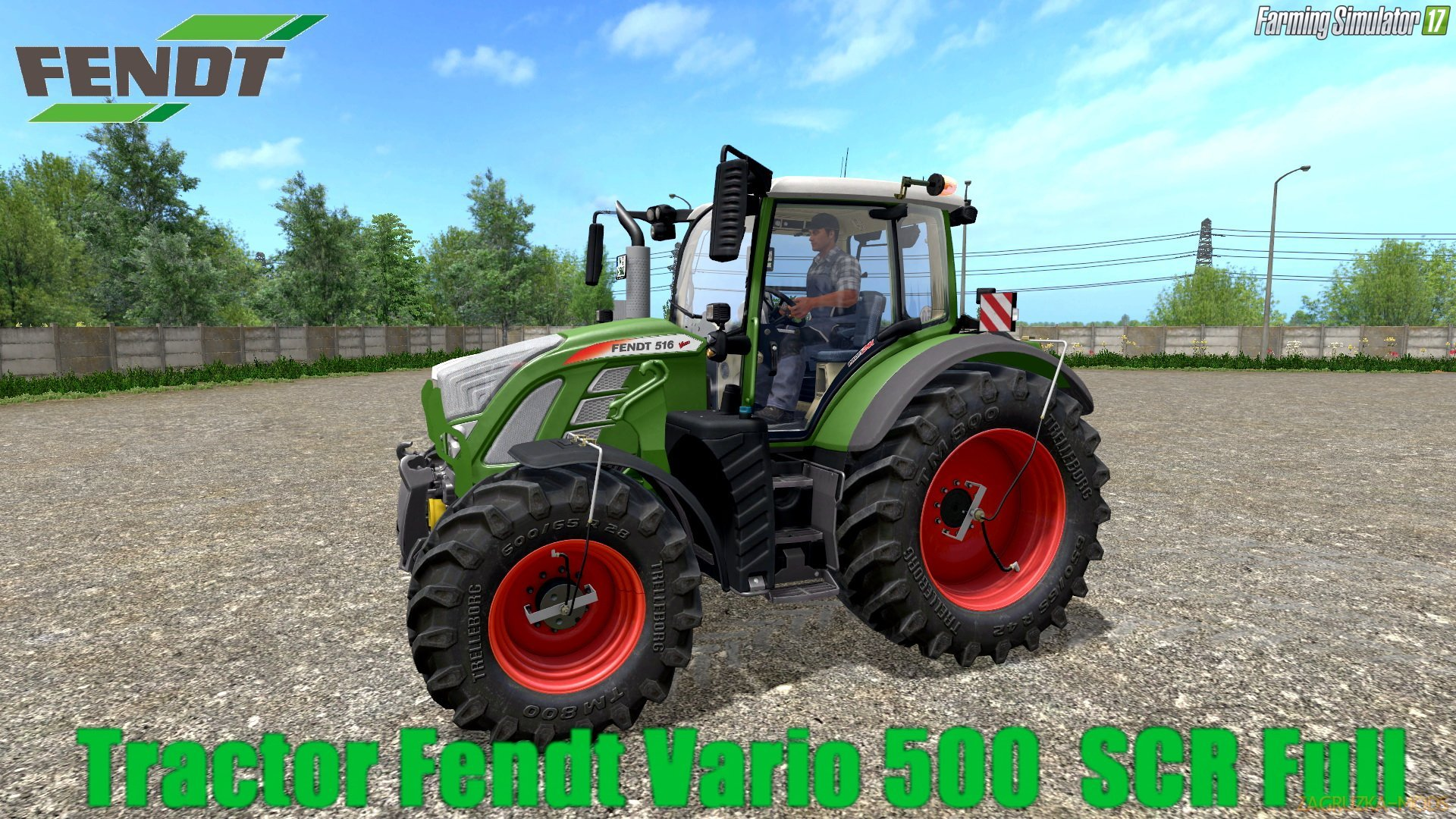 Fendt Vario 500 SCR Full Pack v2.0 for FS 17