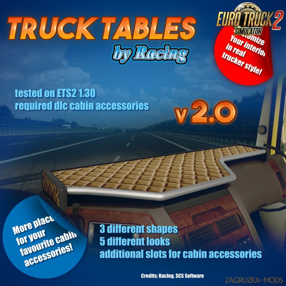 Truck Tables v2.0 by Racing