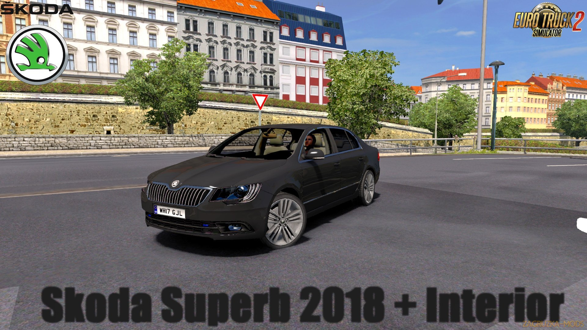 Skoda Superb 2018 v1.0 (Reworked) (1.30.x) for ETS 2