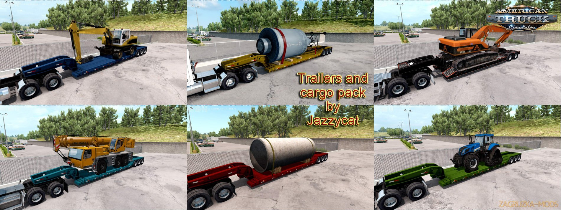 Fix for Trailers and Cargo Pack by Jazzycat v2.0(ATS)