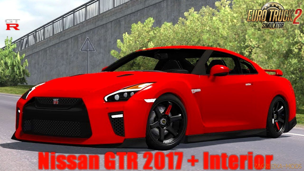 Nissan GTR 2017 v1.0 by KadirYagiz (1.30.x) for ETS 2