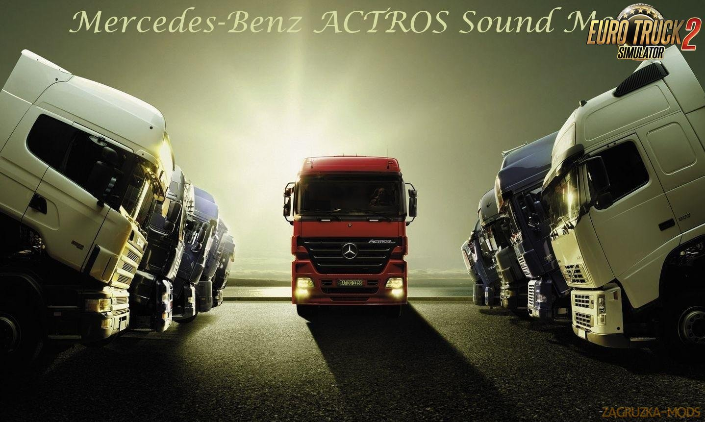 Mercedes Actros MP3 Sound by Leen