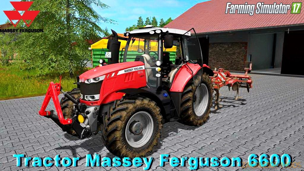Massey Ferguson 6600 v1.1 for FS 17