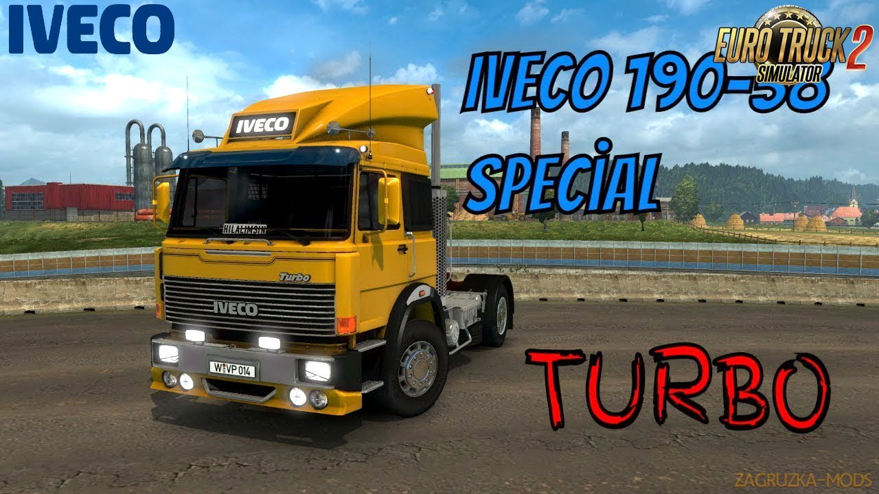 Iveco 190-38 Special Turbo + Interior v1.0 Edit by Ekualizer (1.30.x) for ETS 2