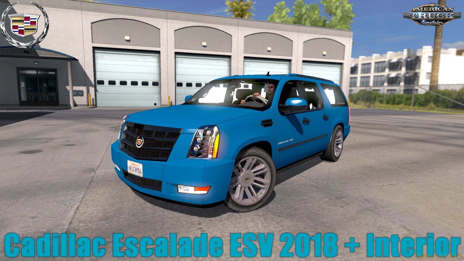 Cadillac Escalade ESV 2018 v1.0 (1.30.x) for ATS