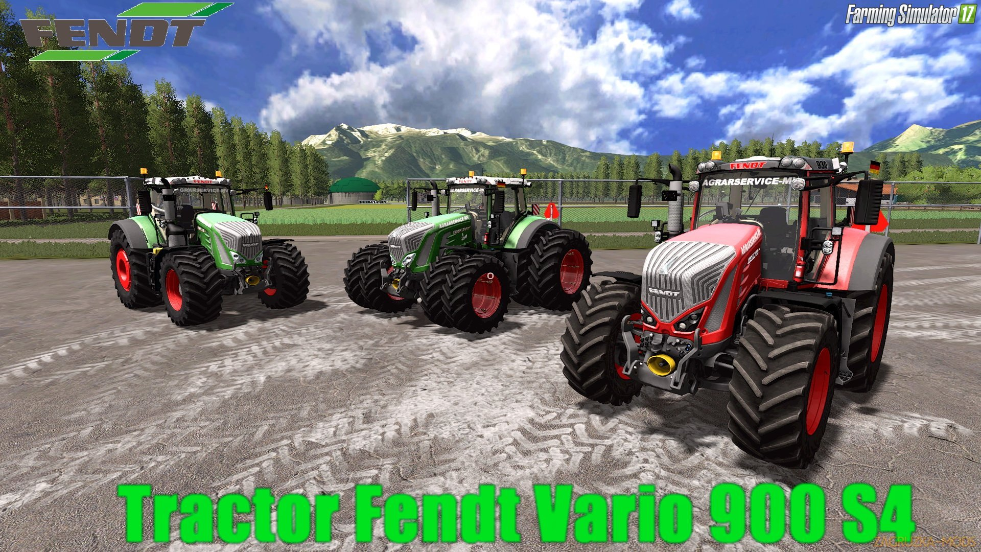 Fendt Vario 900 S4 v2.0 for FS 17