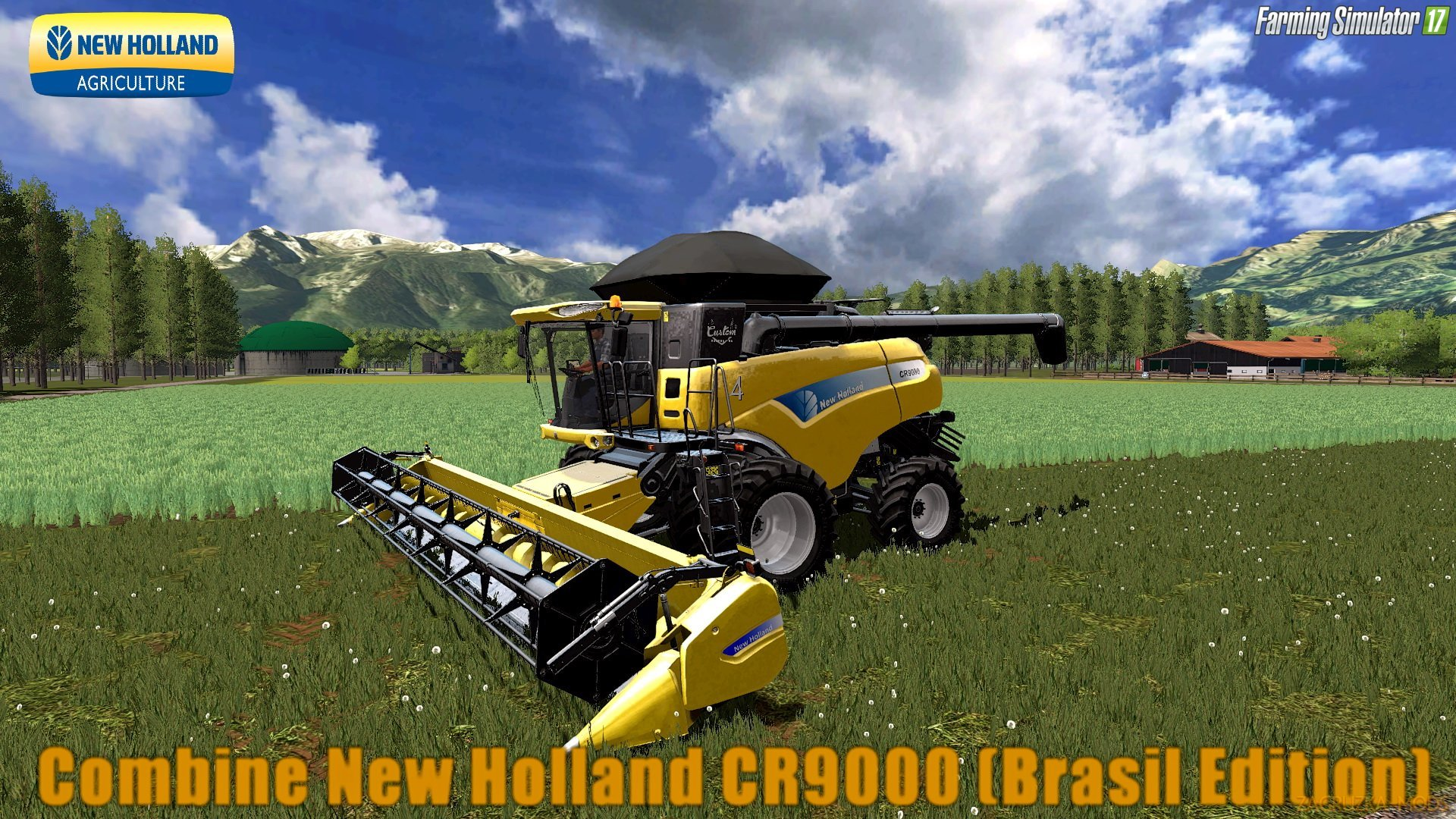 New Holland CR9000 (Brasil Edition) v1.0 for FS 17
