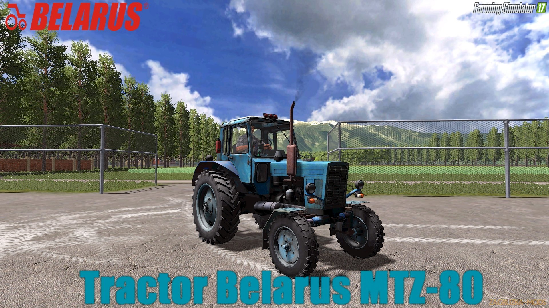 Belarus MTZ-80 v1.0 by Nikolai44 for FS 17