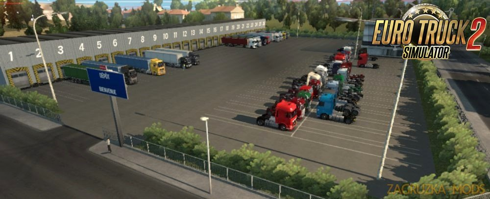 2 Warehouses Marseille for Ets2