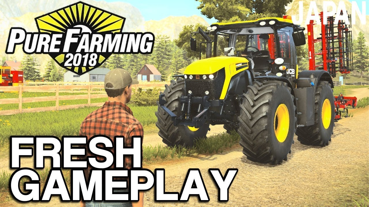 Pure Farming 2018 - New Machinery & Germany Map Preview