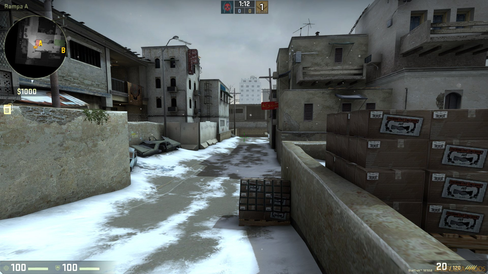 Winter Dust 2 Map v1.0 for CS:GO
