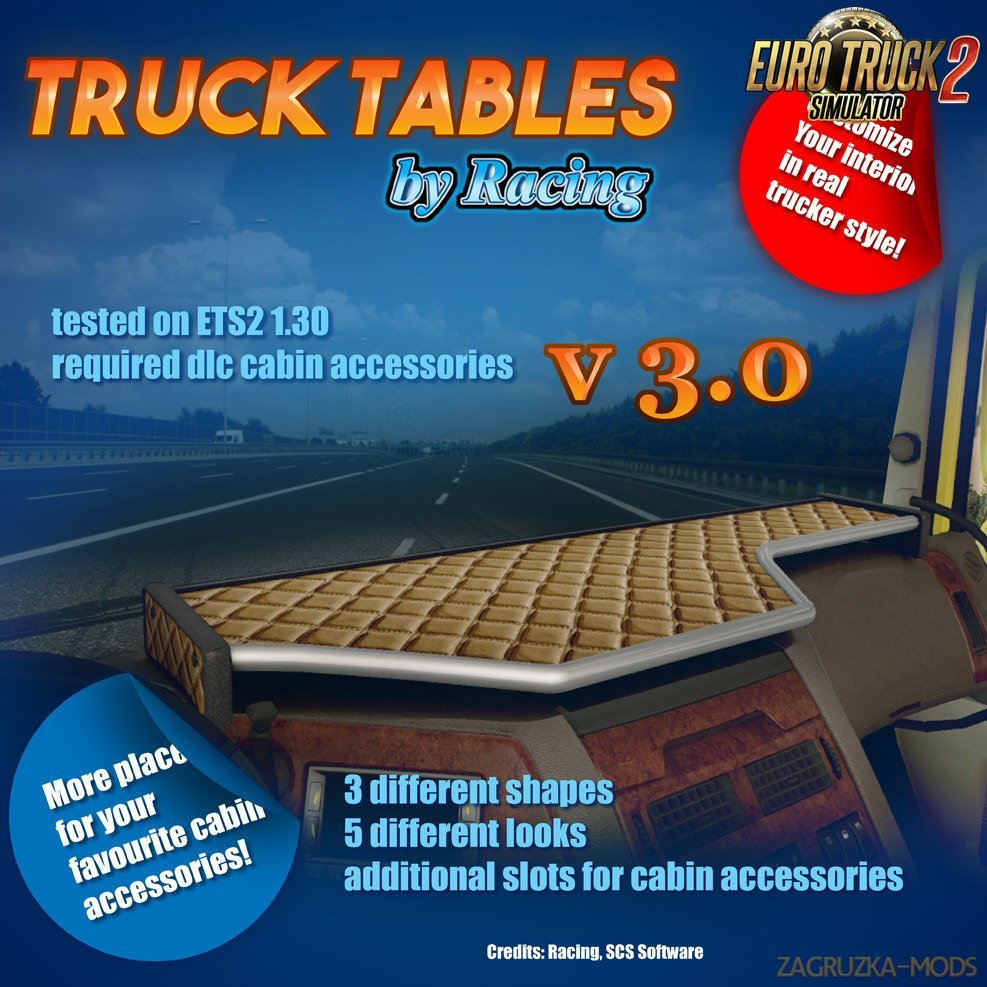 Truck Tables v3.0 by Racing