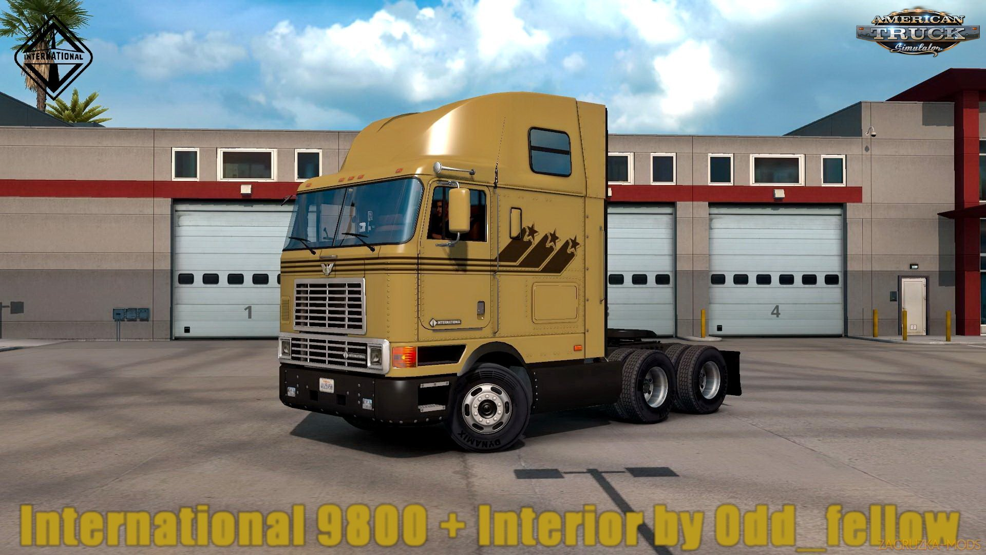 International 9800 + Interior v2.0 by Odd_fellow (1.30.x) for ATS
