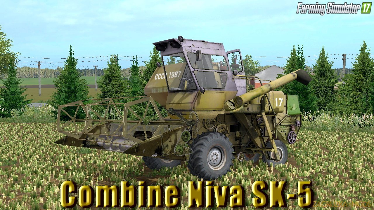 Rostselmash Niva SK-5 v1.1 for FS17