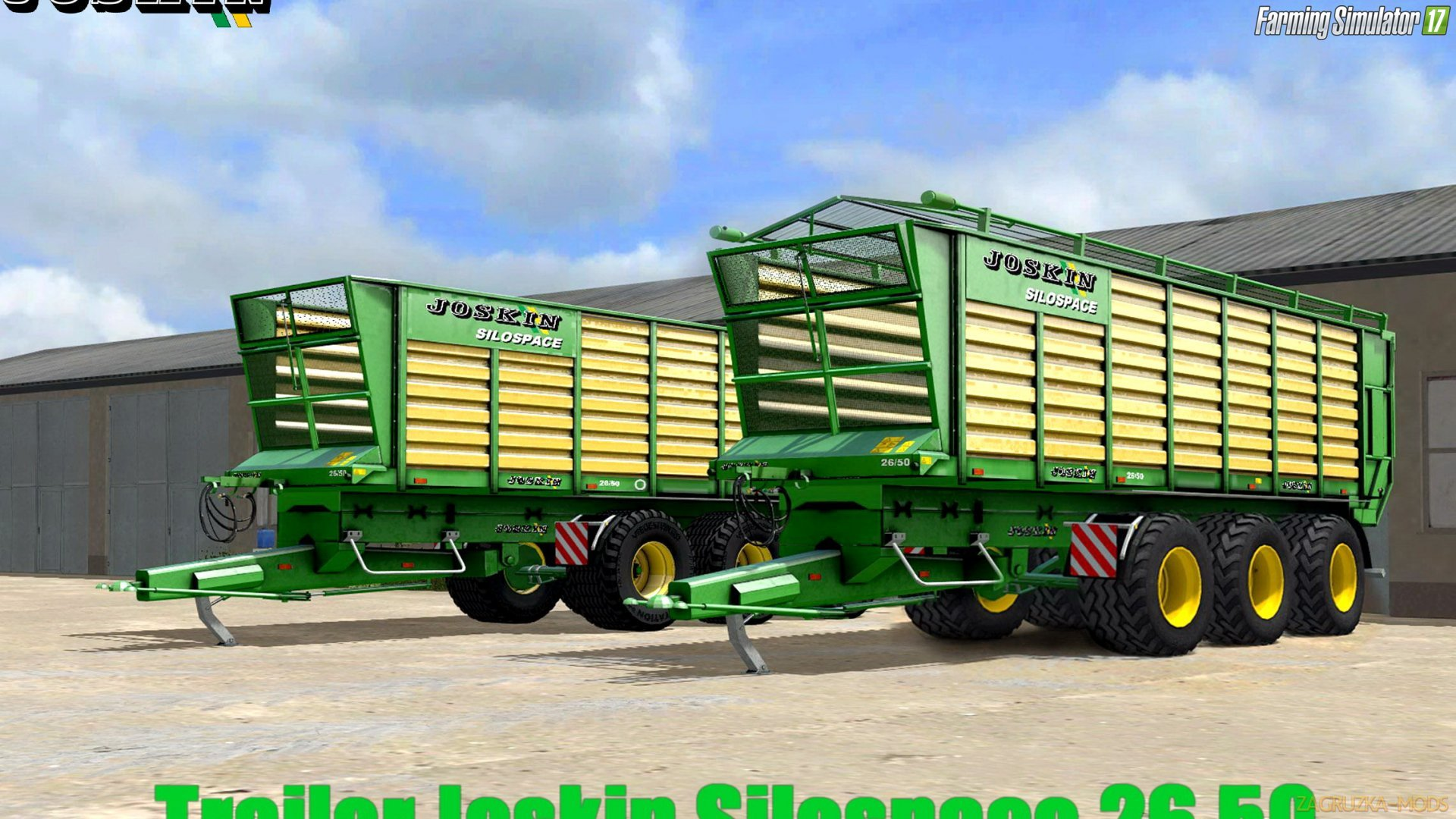 Trailer Joskin Silospace 26.50 v1.0 for FS 17